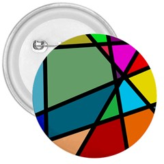 Modern Abstract 3  Buttons by vwdigitalpainting