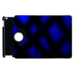 Abstract Plaid Apple Ipad 2 Flip 360 Case by vwdigitalpainting