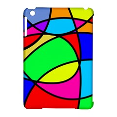 Abstract Curves Apple Ipad Mini Hardshell Case (compatible With Smart Cover) by vwdigitalpainting
