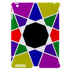 Compass Abstract Apple Ipad 3/4 Hardshell Case (compatible With Smart Cover) by vwdigitalpainting