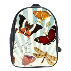 Butterfly 1064147 1920 School Bag (xl) by vintage2030