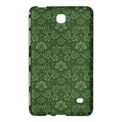 Damask Green Samsung Galaxy Tab 4 (7 ) Hardshell Case  by vintage2030