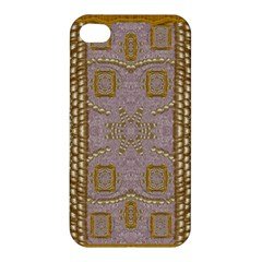 Gothic In Modern Stars And Pearls Apple Iphone 4/4s Premium Hardshell Case by pepitasart