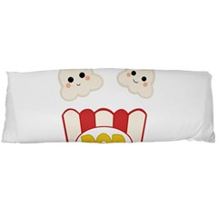 Cute Kawaii Popcorn Body Pillow Case (dakimakura) by Valentinaart