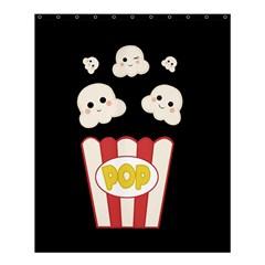 Cute Kawaii Popcorn Shower Curtain 60  X 72  (medium)  by Valentinaart