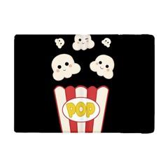 Cute Kawaii Popcorn Apple Ipad Mini Flip Case by Valentinaart