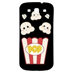 Cute Kawaii Popcorn Samsung Galaxy S3 S Iii Classic Hardshell Back Case by Valentinaart