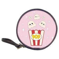 Cute Kawaii Popcorn Classic 20 Cd Wallets by Valentinaart