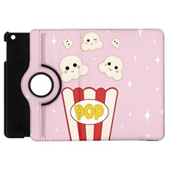 Cute Kawaii Popcorn Apple Ipad Mini Flip 360 Case by Valentinaart