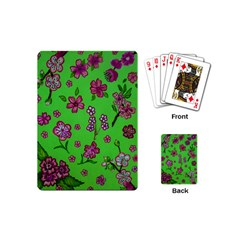 Visions Of Pink Playing Cards (mini)  by dawnsiegler