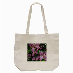 Lilacs 2 Tote Bag (cream) by dawnsiegler