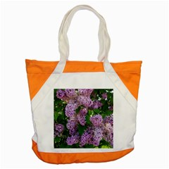 Lilacs 2 Accent Tote Bag by dawnsiegler