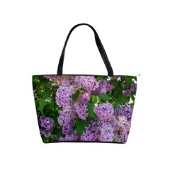 Lilacs 2 Shoulder Handbags by dawnsiegler