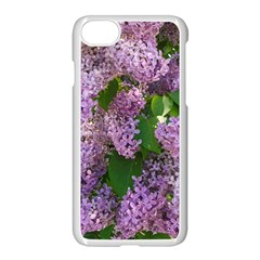 Lilacs 2 Apple Iphone 7 Seamless Case (white) by dawnsiegler