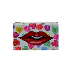 Aahhhh Candy Cosmetic Bag (small)  by dawnsiegler