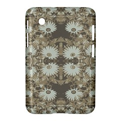 Vintage Daisy Floral Pattern Samsung Galaxy Tab 2 (7 ) P3100 Hardshell Case  by dflcprints