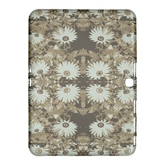 Vintage Daisy Floral Pattern Samsung Galaxy Tab 4 (10 1 ) Hardshell Case  by dflcprints
