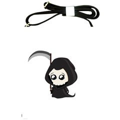 Cute Grim Reaper Shoulder Sling Bags by Valentinaart
