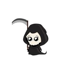Cute Grim Reaper 5 5  X 8 5  Notebooks by Valentinaart