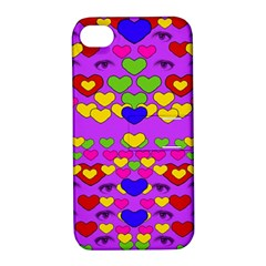 I Love This Lovely Hearty One Apple Iphone 4/4s Hardshell Case With Stand by pepitasart