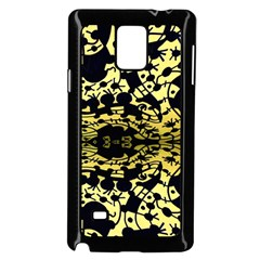 Dna Diluted Samsung Galaxy Note 4 Case (black) by MRTACPANS