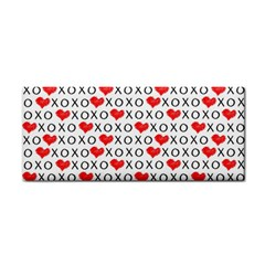 Xoxo Valentines Day Pattern Cosmetic Storage Cases by Valentinaart