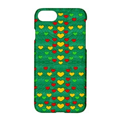 Love Is In All Of Us To Give And Show Apple Iphone 8 Hardshell Case by pepitasart