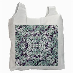 Modern Collage Pattern Mosaic Recycle Bag (two Side)  by dflcprints