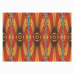 Geometric Extravaganza Pattern Large Glasses Cloth (2 Side) by linceazul