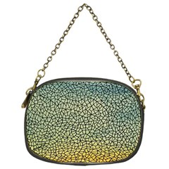 Background Cubism Mosaic Vintage Chain Purses (one Side)  by Nexatart