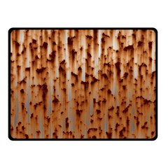 Stainless Rusty Metal Iron Old Fleece Blanket (small) by Nexatart