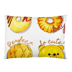 Cute Bread Pillow Case (two Sides) by KuriSweets