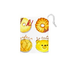 Bread Stickers Drawstring Pouches (xs)  by KuriSweets