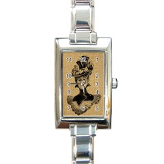 Vintage 1060197 1920 Rectangle Italian Charm Watch by vintage2030