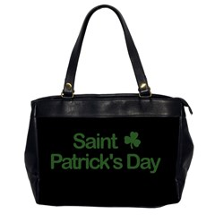 St  Patricks Day  Office Handbags (2 Sides)  by Valentinaart