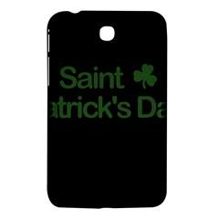 St  Patricks Day  Samsung Galaxy Tab 3 (7 ) P3200 Hardshell Case  by Valentinaart