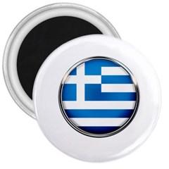 Greece Greek Europe Athens 3  Magnets by Nexatart