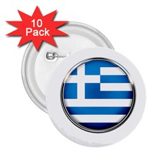 Greece Greek Europe Athens 2 25  Buttons (10 Pack)  by Nexatart