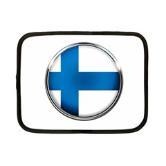 Finland Country Flag Countries Netbook Case (small)  by Nexatart
