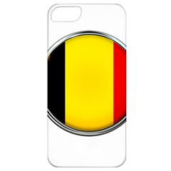 Belgium Flag Country Brussels Apple Iphone 5 Classic Hardshell Case by Nexatart