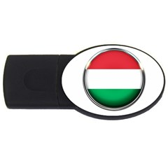 Hungary Flag Country Countries Usb Flash Drive Oval (4 Gb) by Nexatart