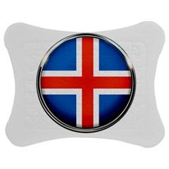 Iceland Flag Europe National Jigsaw Puzzle Photo Stand (bow) by Nexatart