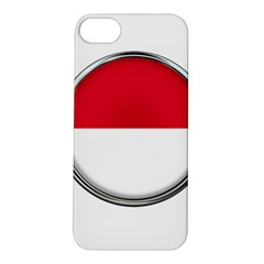 Monaco Or Indonesia Country Nation Nationality Apple Iphone 5s/ Se Hardshell Case by Nexatart