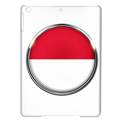 Monaco Or Indonesia Country Nation Nationality Ipad Air Hardshell Cases by Nexatart