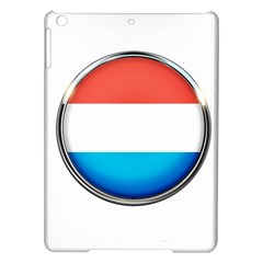 Luxembourg Nation Country Red Ipad Air Hardshell Cases by Nexatart