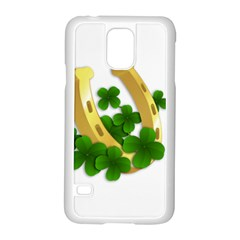 St  Patricks Day  Samsung Galaxy S5 Case (white) by Valentinaart