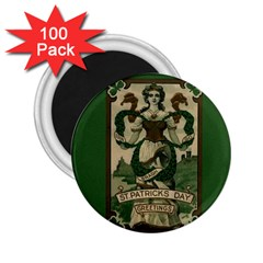 St  Patricks Day  2 25  Magnets (100 Pack)  by Valentinaart