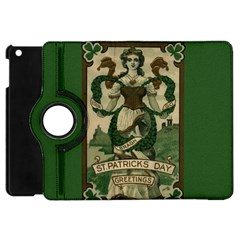 St  Patricks Day  Apple Ipad Mini Flip 360 Case by Valentinaart