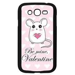 Cute Mouse   Valentines Day Samsung Galaxy Grand Duos I9082 Case (black) by Valentinaart