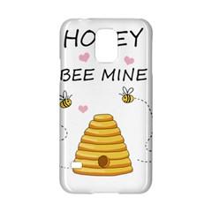 Bee Mine Valentines Day Samsung Galaxy S5 Hardshell Case  by Valentinaart